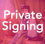 Zienia Merton - Photo - Private Signing